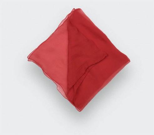 Pochette Voile Rouge - Cinabre Paris