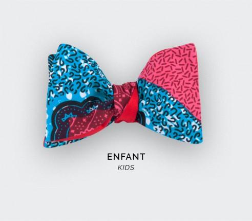 Noeud papillon Enfant  Wax Rose - Cinabre Paris