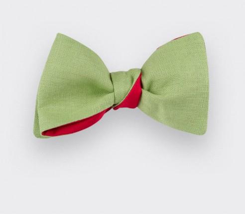 Bright Lime Green Bow Tie - Cinabre Paris