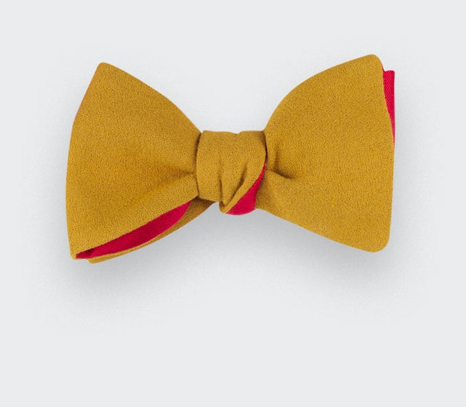 Mustard Laine Royale Bow Tie - Cinabre