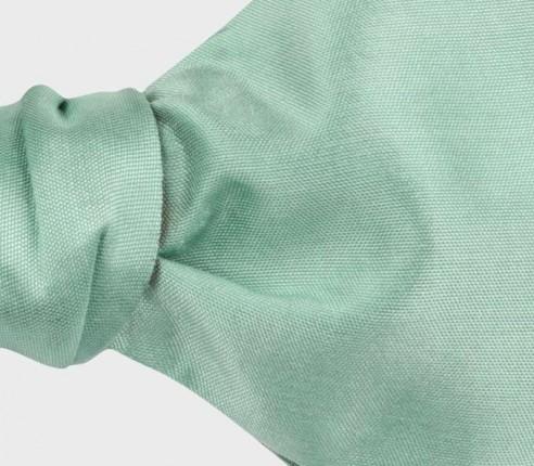 Sage Green Silk Bow Tie - Cinabre Paris