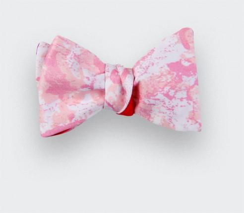 Pink milky way bow tie - Cinabre Paris