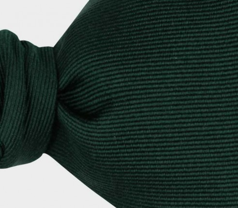 Emerald Green Silk Faille Bow Tie - Handmade in France by Cinabre Paris