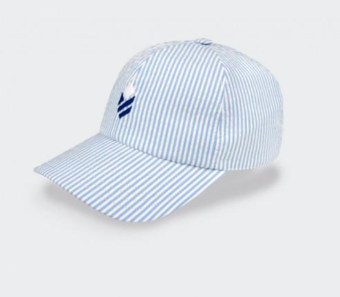Made in France Blue Seersucker Cap - Cinabre Paris