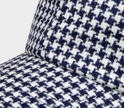 Made in France Houndstooth n°2 Cap - Cinabre Paris