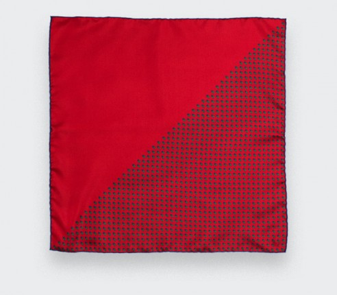 Red Grand Pan Kid Scarf - Cinabre Paris