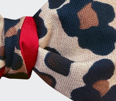 Leopard Bow Tie - Cotton - Cinabre Paris