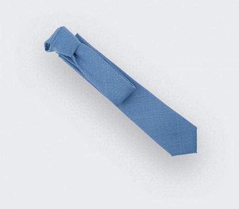 CINABRE - Tie - Solent Ciel - made in France