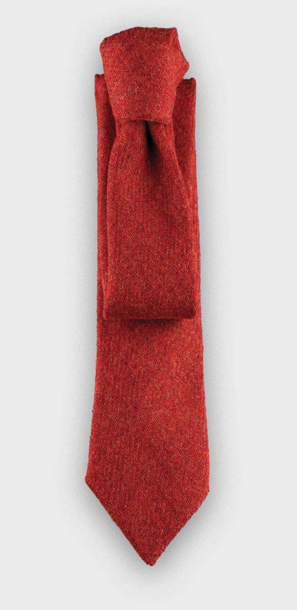 CINABRE Paris - Tie - Holy Loch Rouge - Made in France