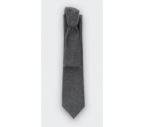 CINABRE Paris - Tie - Peau Gris - Made in France