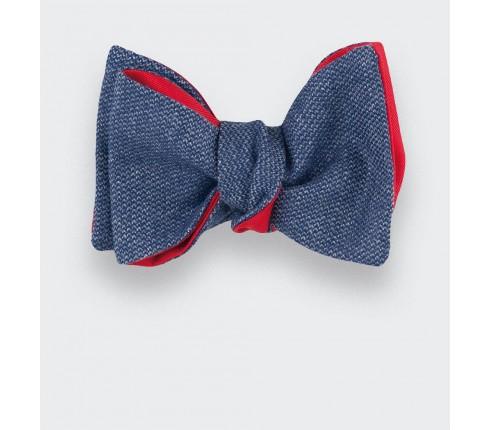 CINABRE Paris - Bow Tie - Carbone 01 - Made in France