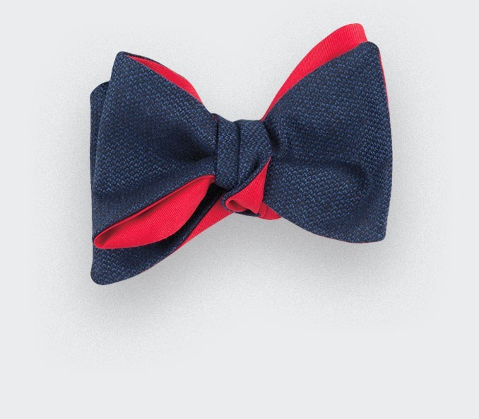 CINABRE Paris - Bow Tie - Carbone 01 - Made in France