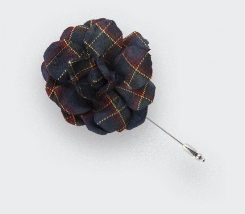 CINABRE - Gardénia Tartan - Made in France