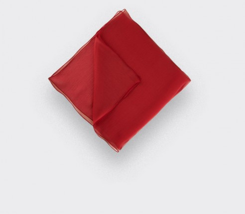Pocket Square Voile Rouge