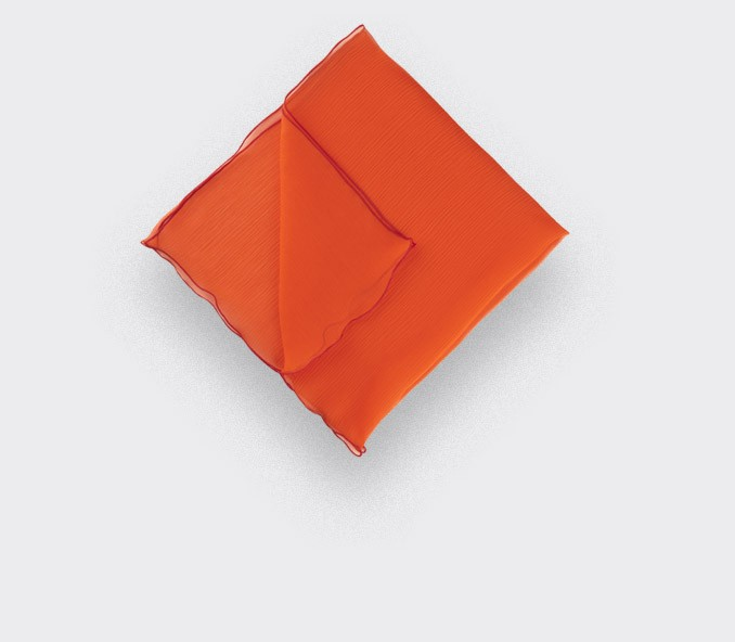 Pocket Square Voile Rouge