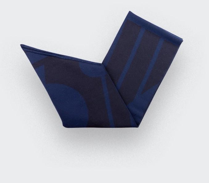 Night blue scarf