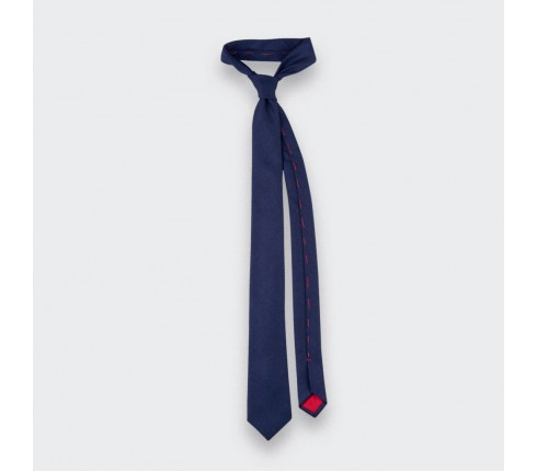 CINABRE Paris - Tie - Kevlar Marine - Made in France