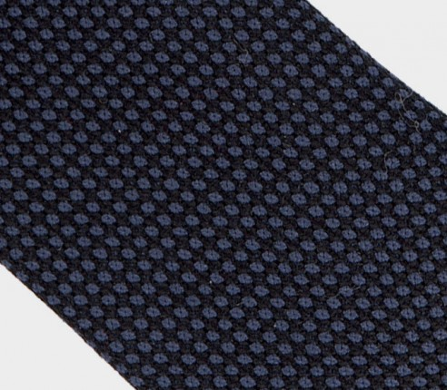 cravate caviar marine - laine - cinabre paris