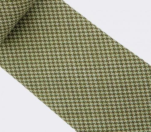 CINABRE - Tie - Solent Green - made in France