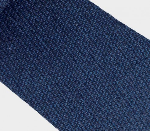 CINABRE Paris - Cravate - Kevlar Bleu - Made in France