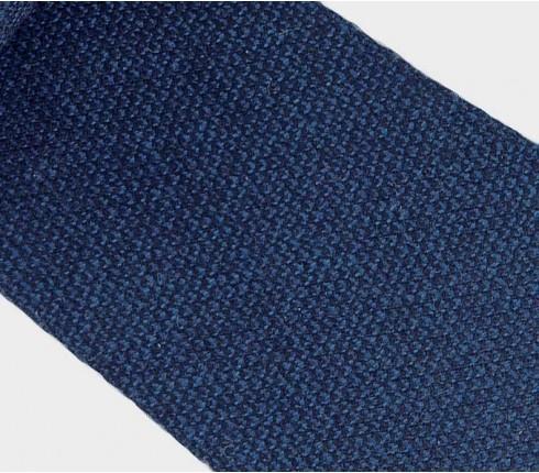 CINABRE Paris - Cravate - Kevlar Bleu - Made in France