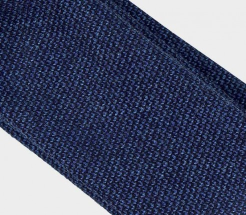 CINABRE Paris - Cravate - Kevlar Marine - Made in France