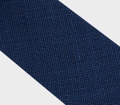 CINABRE Paris - Cravate - Maille Marine - Fait main