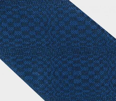 cravate Festival Bleu Nuit - laine et soir - cinabre paris