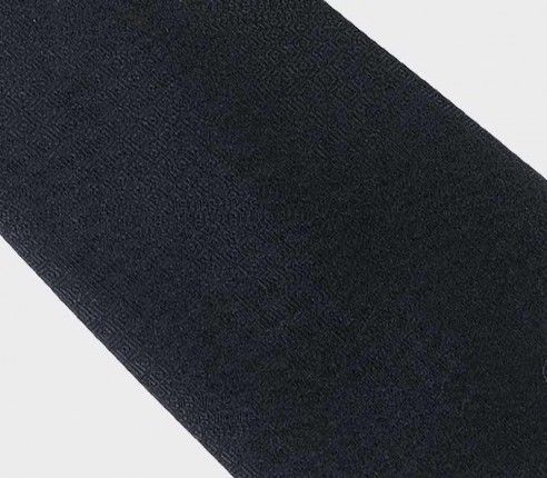 cravate Festival Noir - laine et soie - cinabre paris