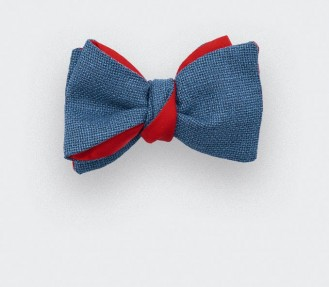 CINABRE Paris - Bow Tie - Maille Canard - Hand Made