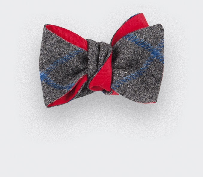 CINABRE Paris - Bow Tie - Loch Lochy - Made in France