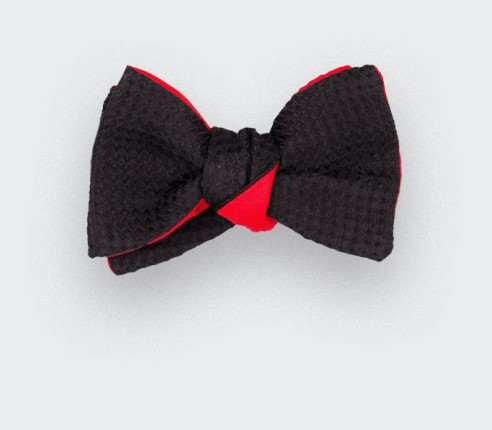 CINABRE Paris - Bow Tie - 3D Noir - Made in France