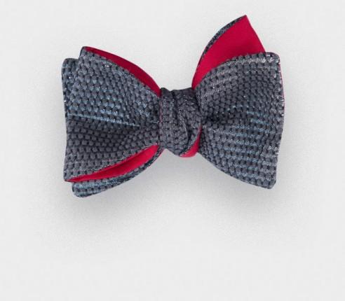 Noeud Papillon Jeudi Soir - Cinabre Paris - laine lurex et soie
