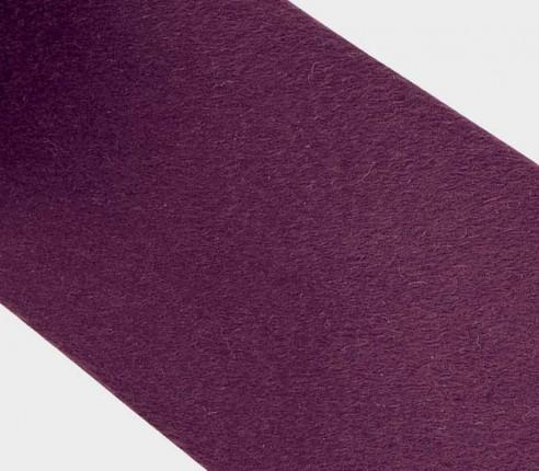 CINABRE Paris - Cravate fait main en peau de cachemire violet