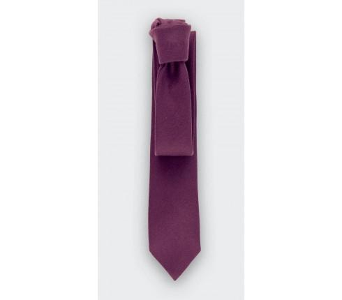 Tie Skin purple - Cachemire - Cinabre Paris