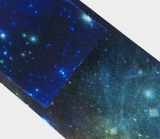 Cravate Constellation - coton - fait main en France - CINABRE Paris