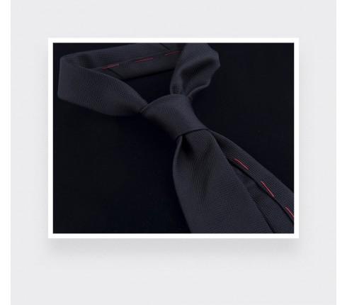 Black Lizard Tie Lézard - Silk - Cinabre Paris