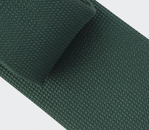 Green Lizard Tie - Silk - Cinabre Paris