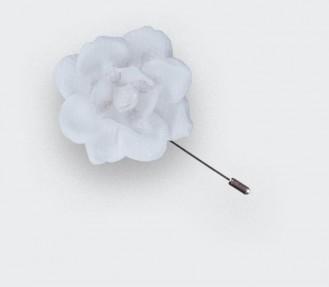 Boutonnière pour costume Blanche Gardenia S Nid d'Abeille - Cinabre Paris