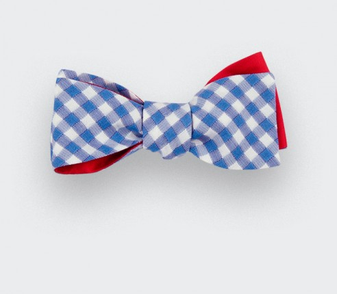 Sky Blue Slim Bow Tie - Cinabre Paris