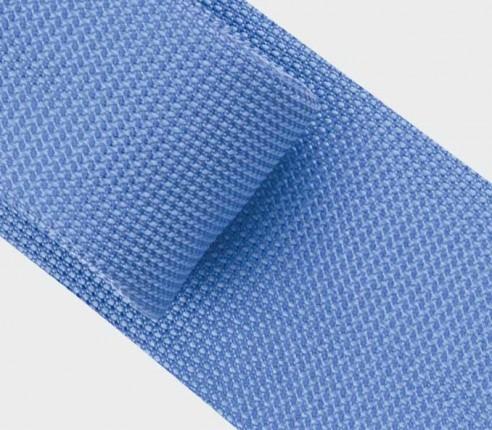 Cravate Soie tissée bleu - Cinabre Paris