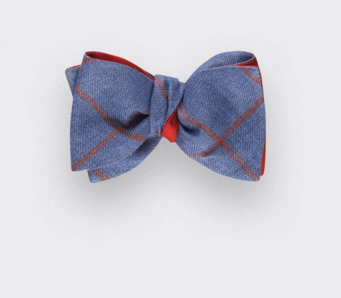 Denim Agay Bow Tie - Cinabre Paris