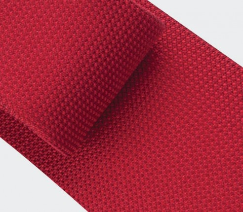 Cravate Soie tissée rouge - soie - Cinabre Paris
