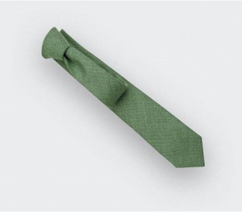 green maille tie - wool - cinabre paris