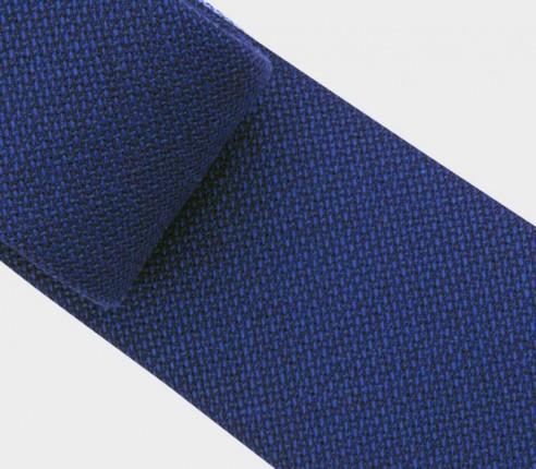 blue maille tie - wool - cinabre paris