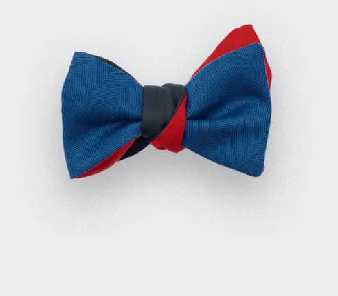 bow tie parisien roi - Made in France - CINABRE Paris