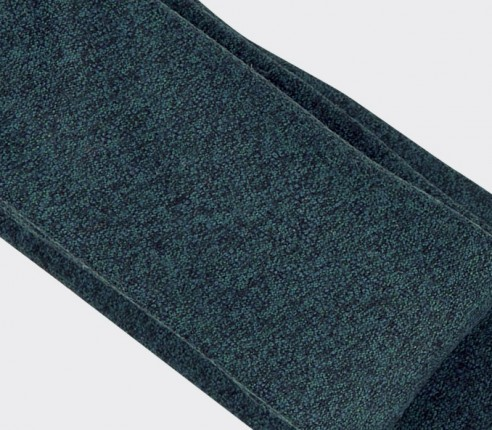 pigeon blue flannel tie - wool - cinabre paris
