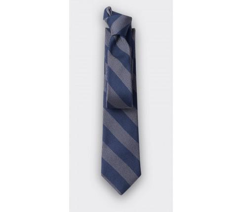 cravate club cinabre beige - soie - cinabre paris