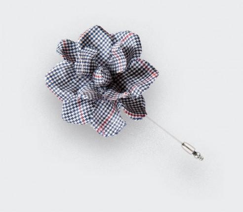 boutonnière costume solent été - gardenia laine - cinabre paris