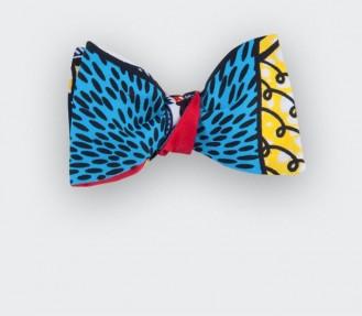 Noeud papillon Wax Turquoise - Cinabre Paris